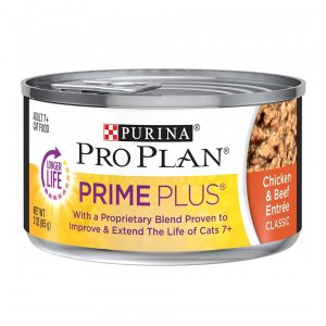 Purina Pro Senior Canned Wet Cat Food